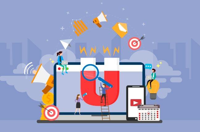 Inbound Marketing para captação de leads
