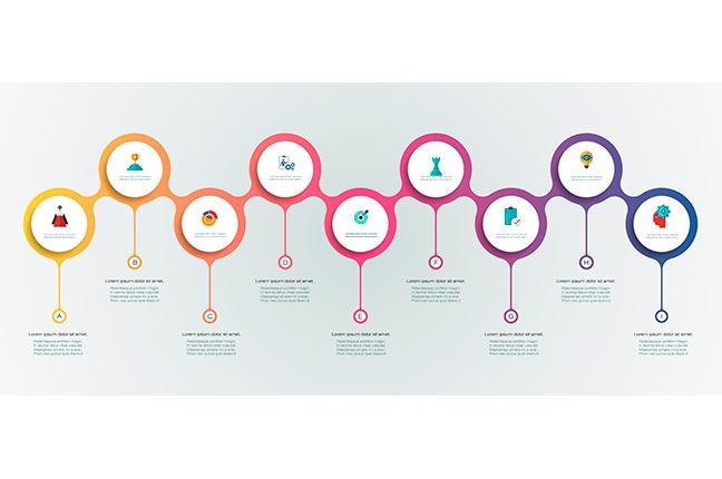 Modelo de infográfico